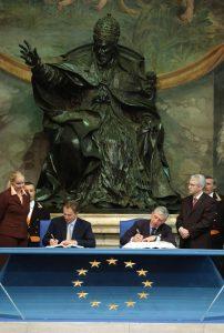 Ratifica della Costituzione Europea